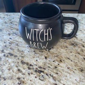 Rae Dunn Witch's Bree Cauldron Mug